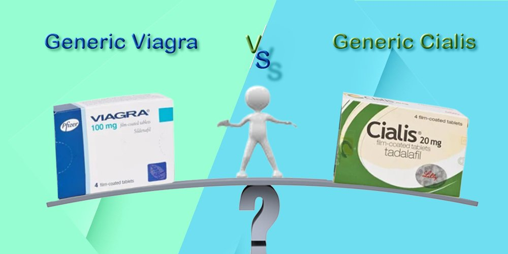 Generic Cialis vs Viagra – What is the Difference