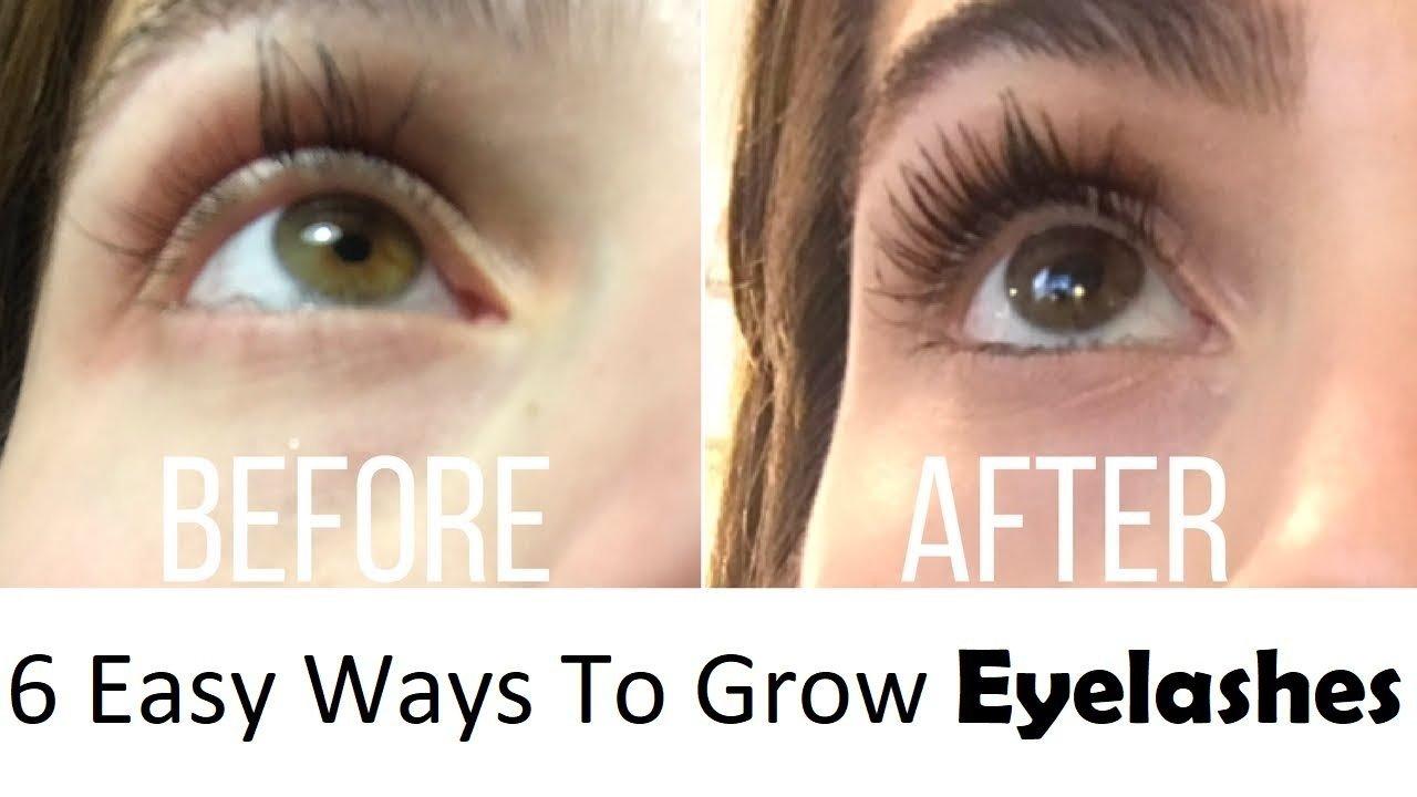 6 Easy Ways To Grow Eyelashes