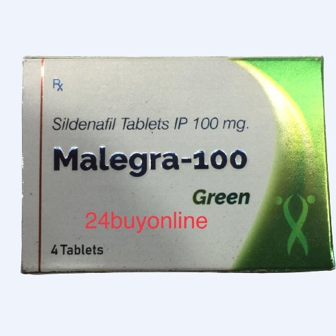 MALEGRA GREEN 100 Mg